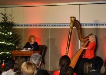 Weihnachtliche Harfenlesungen mit Ulla van Daelen und Nina Hoger